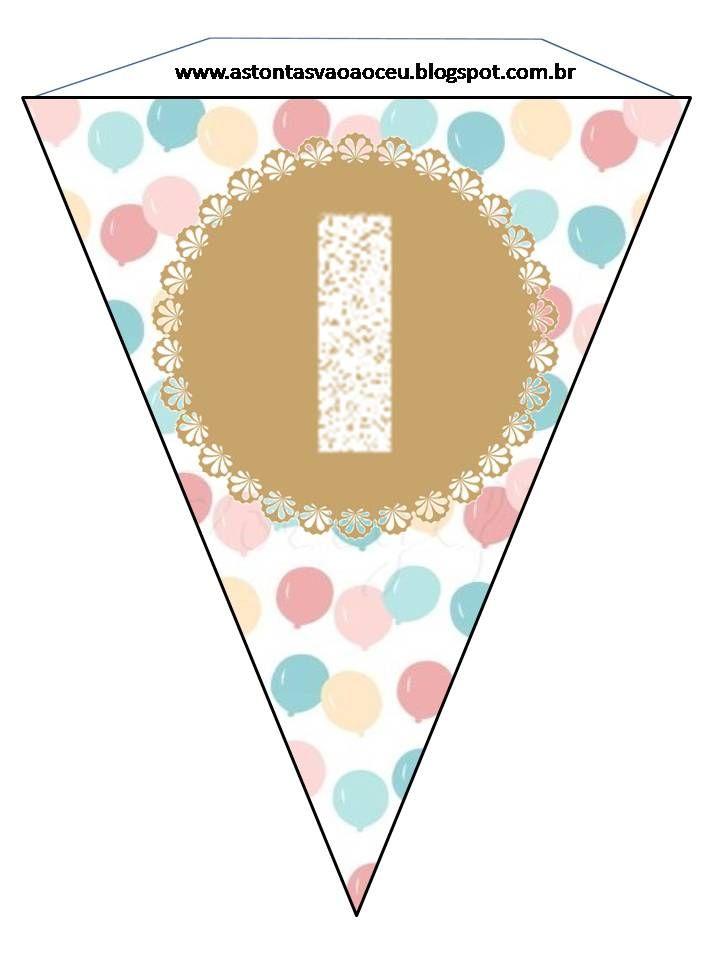 As Tontas Vão Ao Céu: Bandeirinhas - Feliz Aniversário (Sociedade de ...