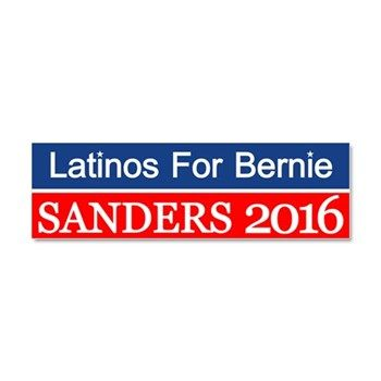 latinos for bernie car magnet 10 x 3 bernie sanders president 2016