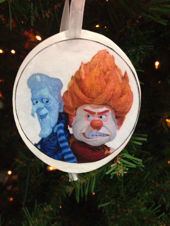 Mr. Heat Miser & Mr. Snow Miser Christmas Ornament - Mr. Heat Miser & Mr. Snow Miser Christmas Ornament Products Heat