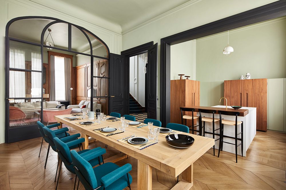 This Historic Mansion In France Was Originally A Private Hotel Modern Dining Room House And Home Magazine Kid Room Decor