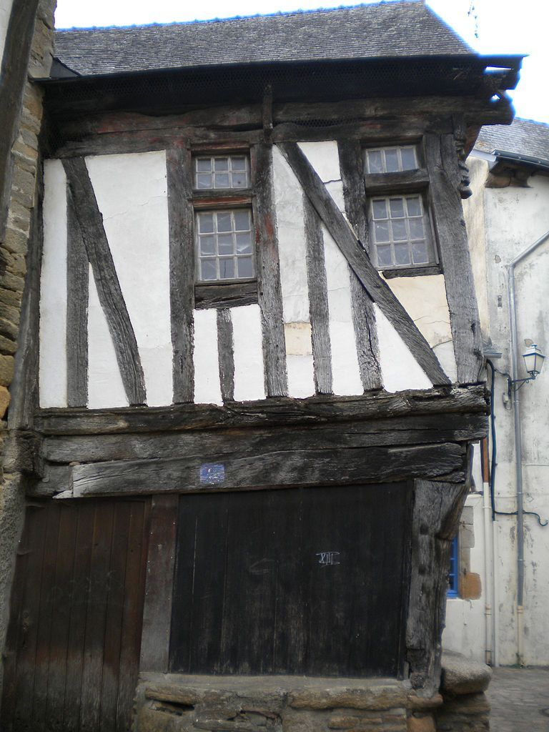 French Timber framed house that requires restoration.   Timber ...