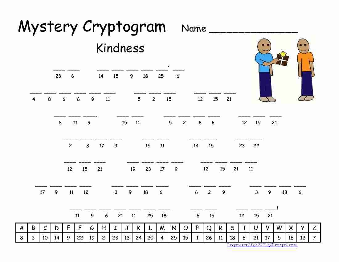 Kindness Cryptogram 850 With Images