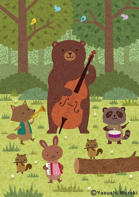 Yasushi Muraki Japanese illustrator // http://melon33.jimdo.com/g-a-l-l-e-r-y…