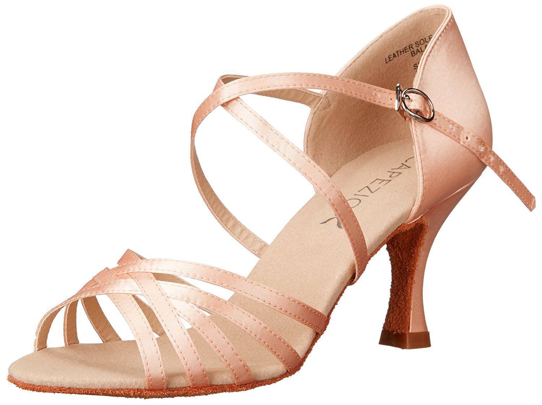Womens Rosa 2.5 Social Dance Shoe,Black,7 W US Capezio