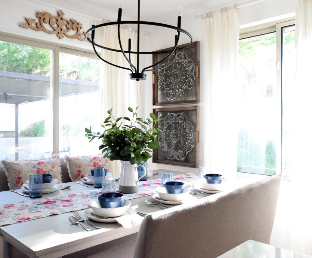 This Post Is In Partnership With Bed Bath Beyond A Brand I Love All Opinions Here Are My Own If You Are Lik Dining Room Makeover Room Makeover Dining Room