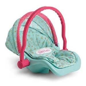 Details About Dolls World Doll Car Seat