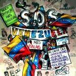 Obras del artista venezolano Oscar Olivares referentes a la situación actual del país