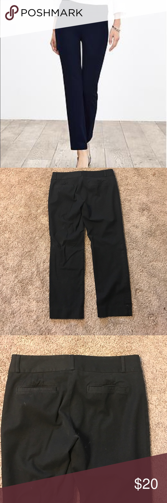 Banana Republic Sloan Fit Pants Banana Republic Ankle dress pants. Perfect to wear to the office or church. Pair with a black blazer to have the perfect professional attire. From a smoke free home and in great condition. Banana Republic Pants Ankle & Cropped