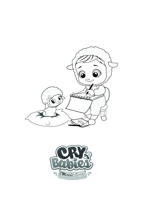 Colorions Cry Babies Magic Tears En 2020 Coloriage