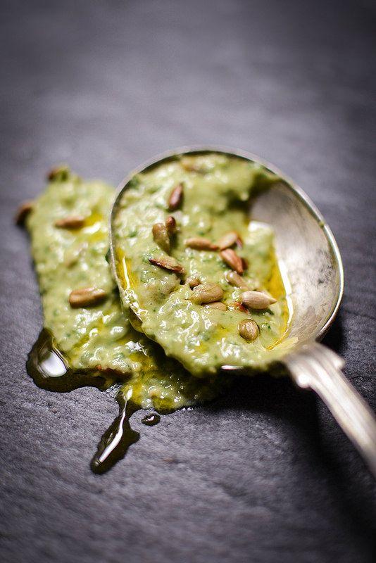 Sorrel Hummus by The Botanical Kitchen