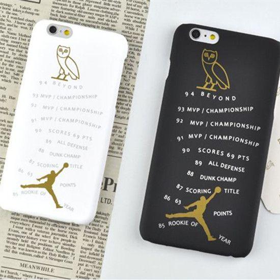 100% authentic 0e789 091b6 Drake Owl OVO X Air Jordan Plastic iPhone6/6s Plus iPhone 7/7 Plus ...