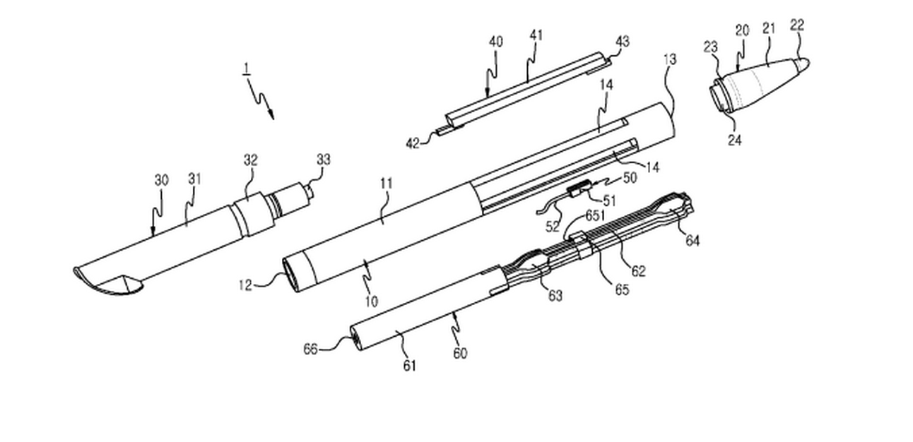 S Pen με μικρόφωνο και ακουστικό (Πατέντα) (With images