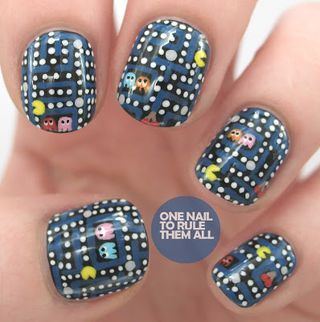 Nails Inc. Collaboration with Teatum Jones - Swatches and Nail... | One Nail To Rule Them All | Bloglovin