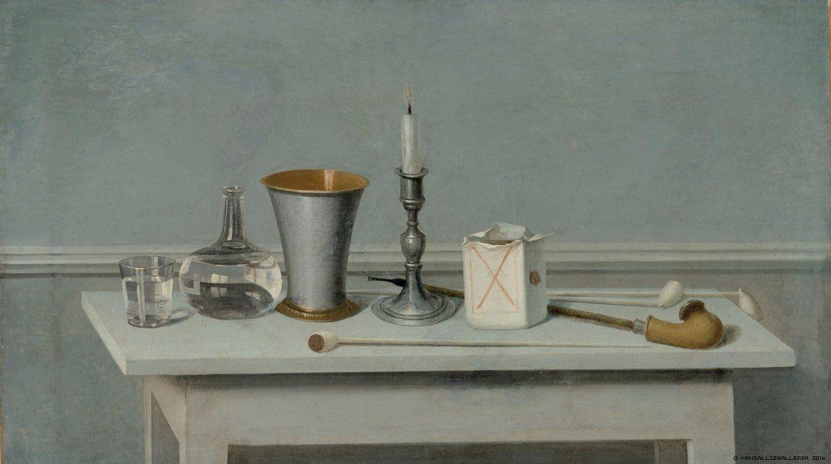 Kansallisgalleria - Taidekokoelmat - Kynttiläasetelma