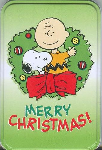 Peanuts Be MERRY Christmas Caroling Snoopy Charlie Brown
