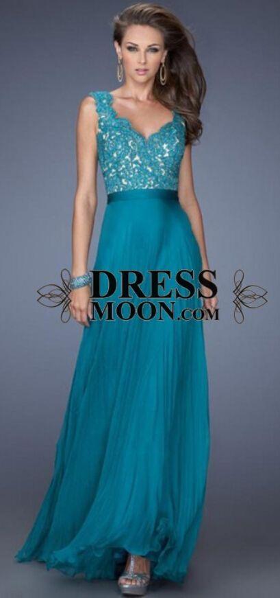 Jade Blue Prom Dresses