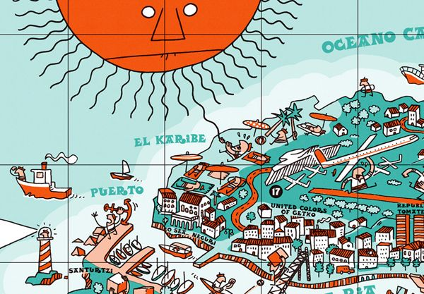 An illustrative map of Bilbao Spain Bilbao Spain and Cruises