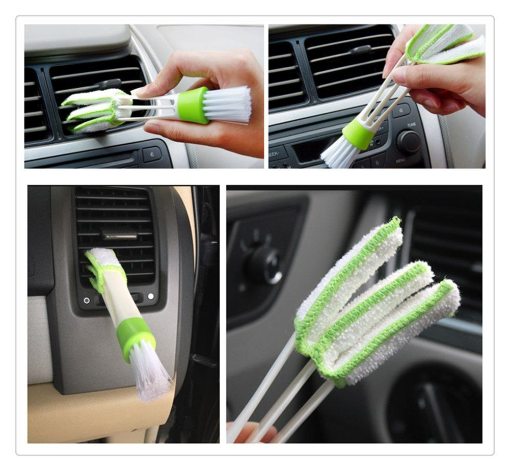 Car Sedan SUV Air Conditioning Care Cleaning Brush For
