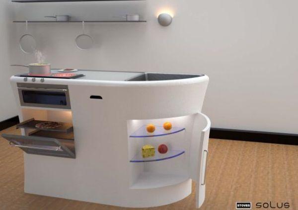 The Mappdaniel Compact Modular Kitchen Space Savers  Pinterest Beauteous Compact Modular Kitchen Designs Design Decoration