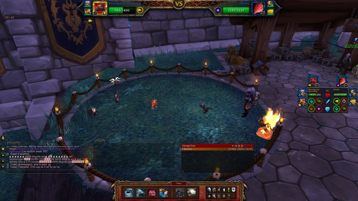 Pet battle Squirt in your alliance garrison and she will have 3 Diablo pets. Deebs Tyri and Puzzle. #worldofwarcraft #blizzard #Hearthstone #wow #Warcraft #BlizzardCS #gaming