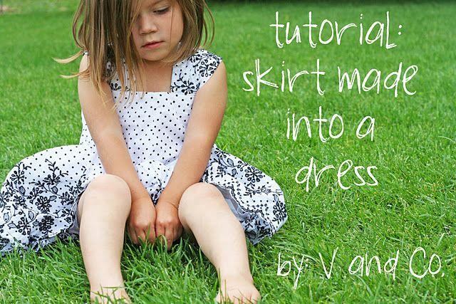 skirt to dress