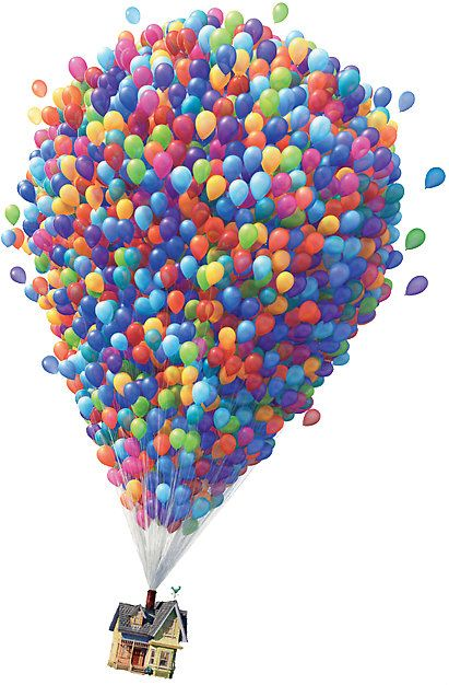 Up Balloon House By Rjl1017 Disney Balloons Up Pixar Balloon House