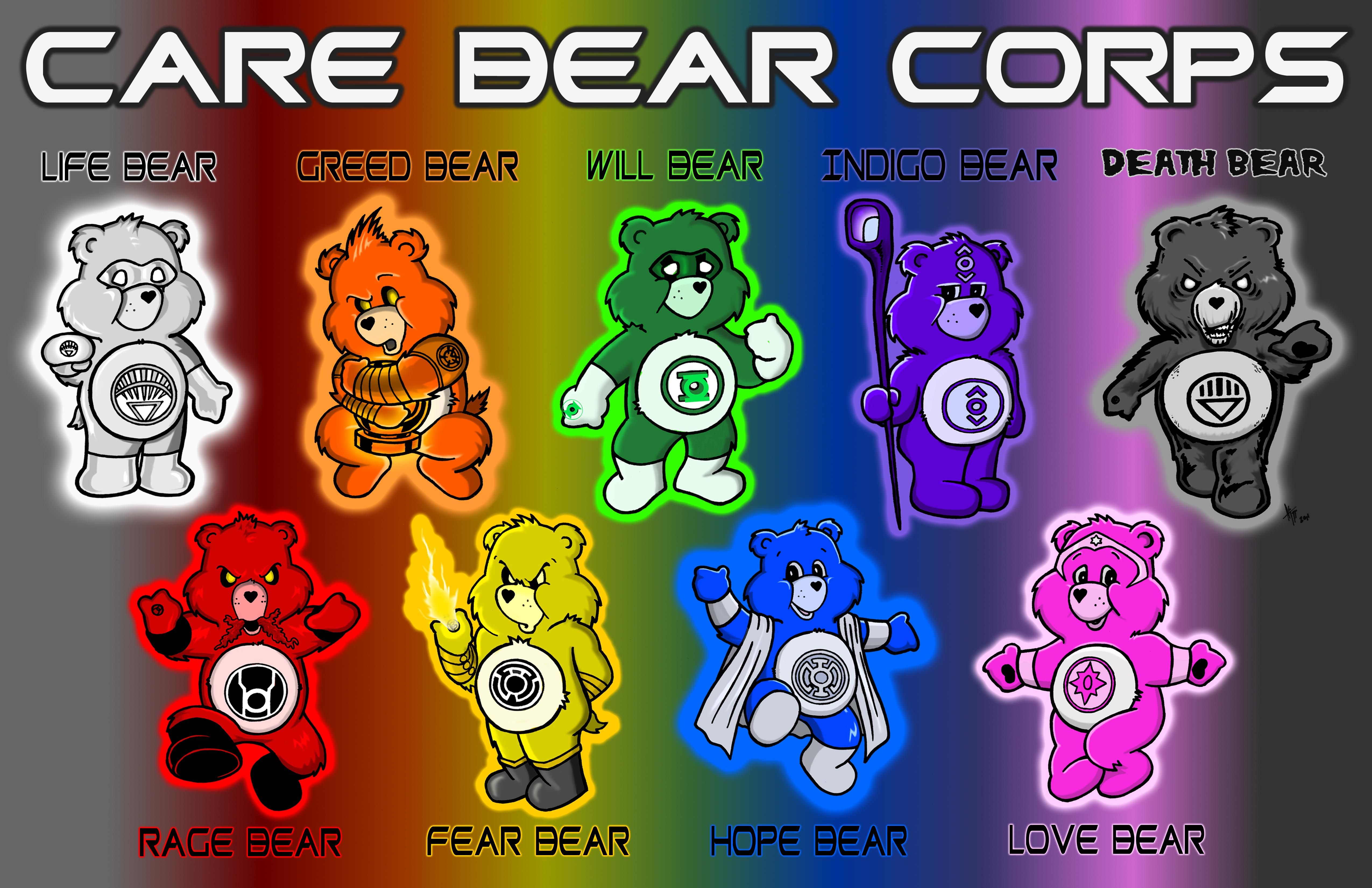 these bears have gone all emotional inspired by the