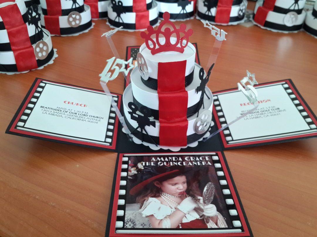 Laura\'s Quinceañera DIY Butterfly Themed Invitations | Invites ...