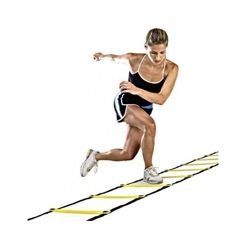 Top 9 Agility Ladder Drills A 30 Minute Speed Ladder Routine To Try Agility Ladder Agility Ladder Drills No Equipment Workout