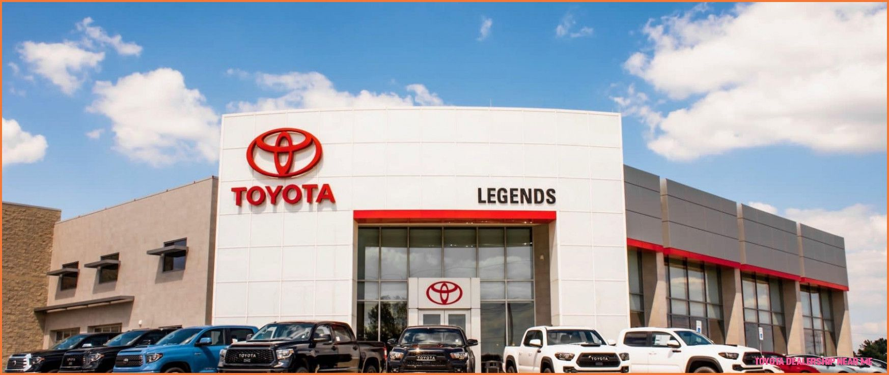 Five Reasons Why Toyota Dealership Near Me Is Common In