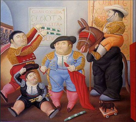 Pin By Monina Wirkes On Toreros Y Toros Fernando Botero Spanish Art Plus Size Art