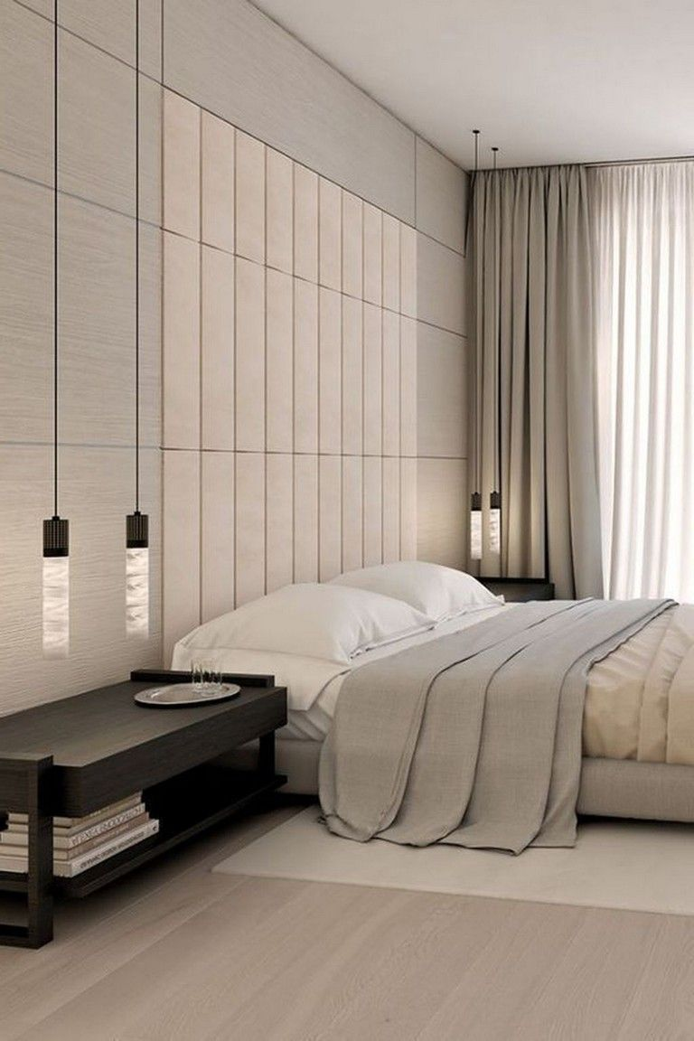 40 Amazing Minimalist Modern Master Bedroom Design Best Ideas Bedroom Bedroomdesign Bedr Modern Master Bedroom Master Bedroom Minimalist Luxurious Bedrooms