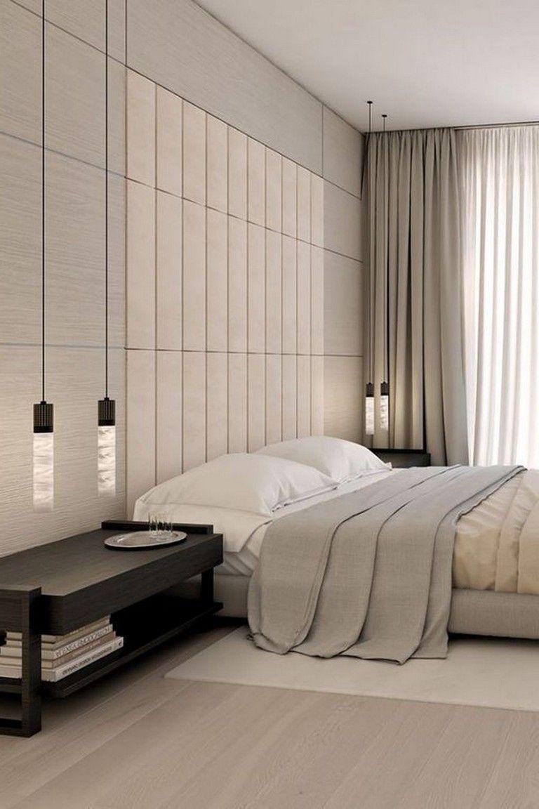 40 Amazing Minimalist Modern Master Bedroom Design Best Ideas