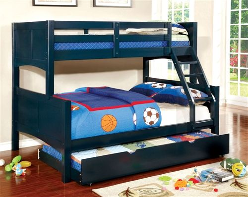 Chase Cottage Wood Twin On Full Bunk Bed Twin Full Bunk Bed