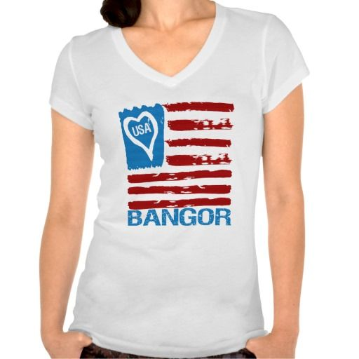 Show some USA pride with our patriotic, fun and stylish USA LOVE BANGOR PAINT INSPIRED FLAG TEE.    Great for the 4th of July, your city celebration or anytime of the year so don't miss out grab yours today. www.citystyletees.com