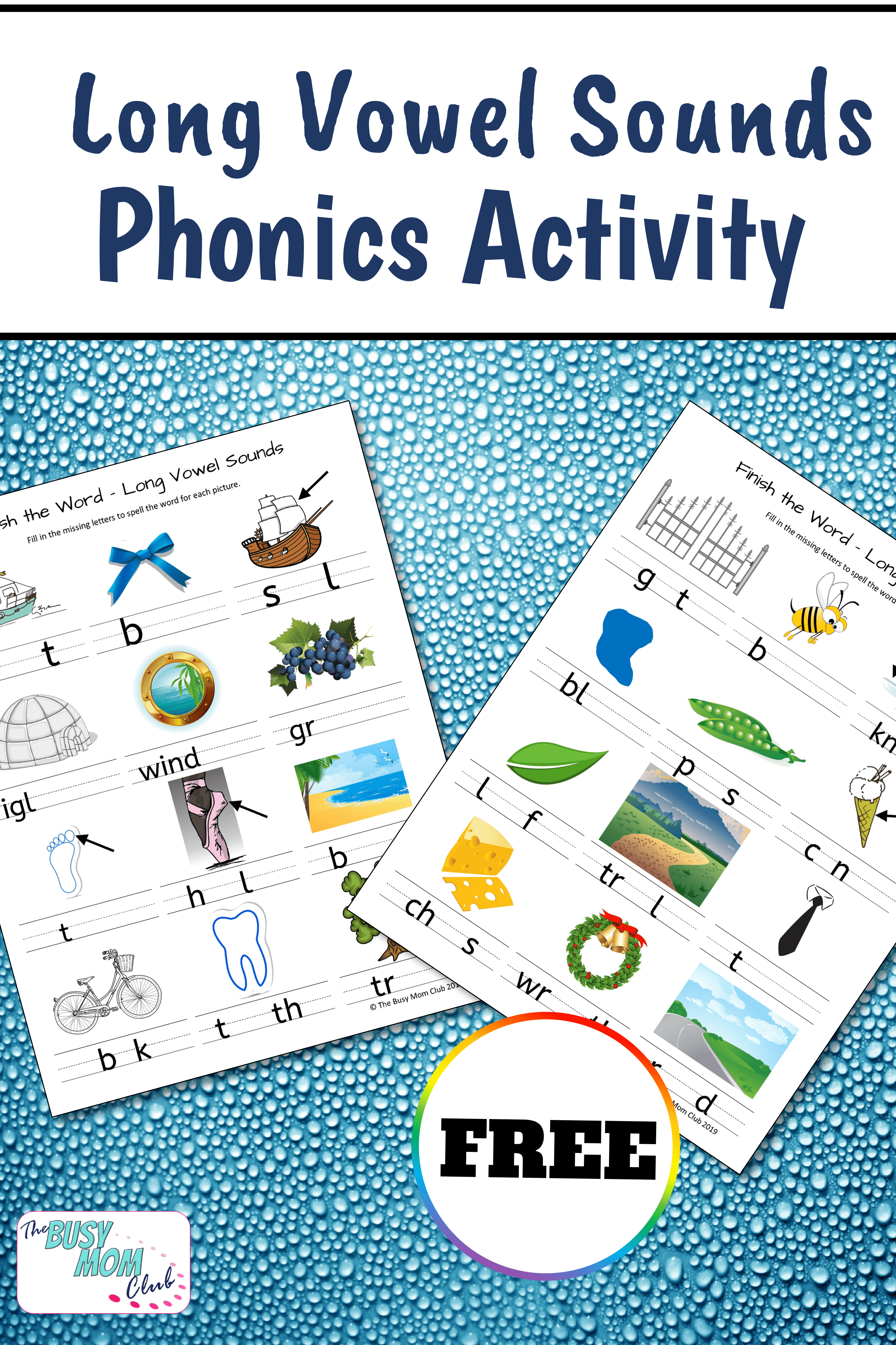 Ideas And Activities For Teaching Long Vowel Sounds
