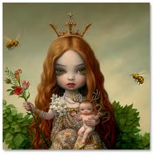 Mark Ryden is an American painter. Ryden is one of the most well known artists of the Pop Surrealist movement, an underground, pop-culture-infused art scene with its origins in 1970s Southern California