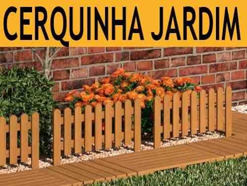 Cerca Cerquinha Em Madeira Para Jardim Linda Decora O Casa  Jardim