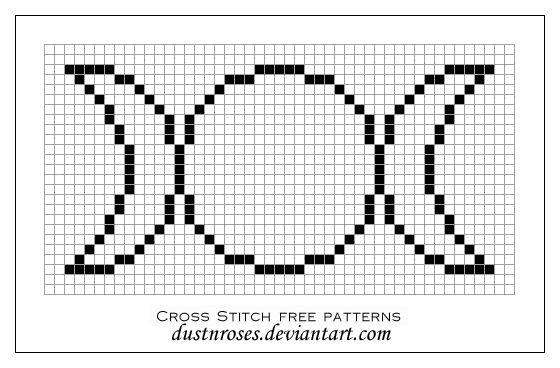 free cross-stitch patterns by dustnroses on deviantART