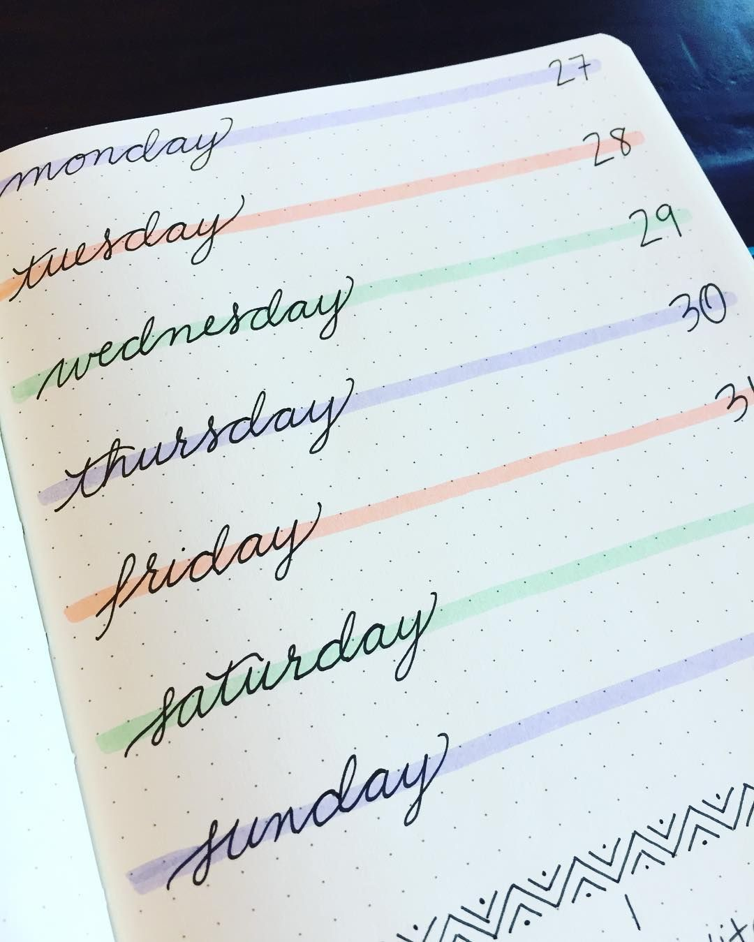 Spice Up Your Bullet Journal with Simple, Colorful Headers | Zen of Planning | Planner Peace and Inspiration