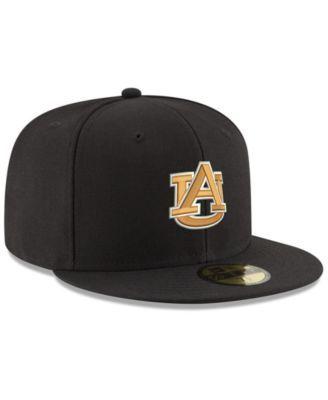New Era Auburn Tigers Shadow 59FIFTY Fitted Cap - Black Orange 7 1 4 ... db839d7c62a9