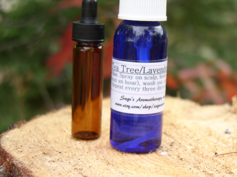 Tea Tree/Lavender Essential Oil Spray, healthy Scalp