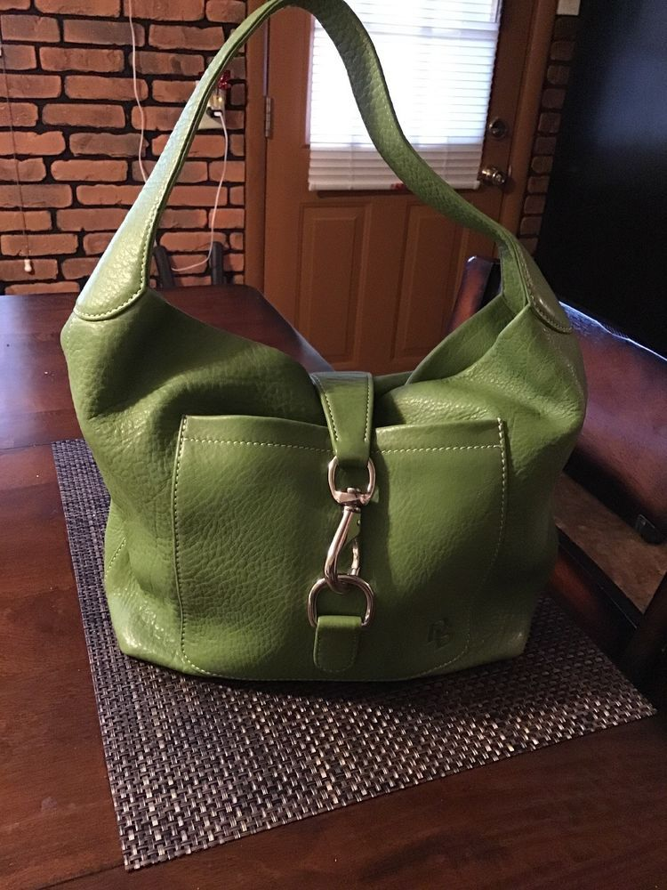Beautiful Medium Leather Green Dooney   Bourke Handbag  fashion  clothing   shoes  accessories  womensbagshandbags (ebay link) 403ff119c571b