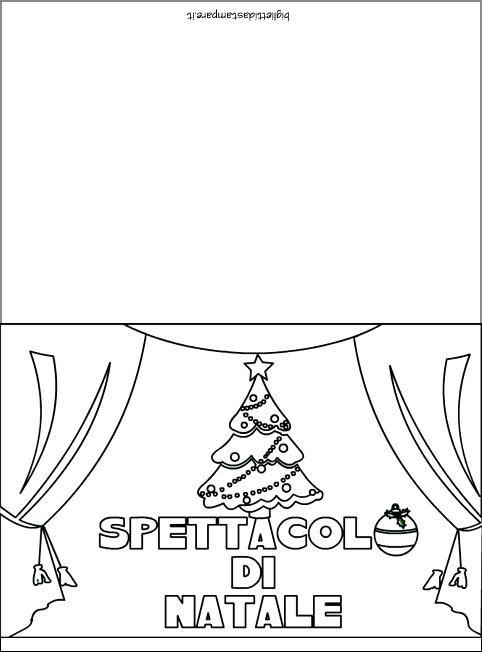 Biglietti Di Natale Scuola Infanzia Da Colorare.Biglietti Di Invito Per La Recita Di Fine Anno Invito Recita Natale2