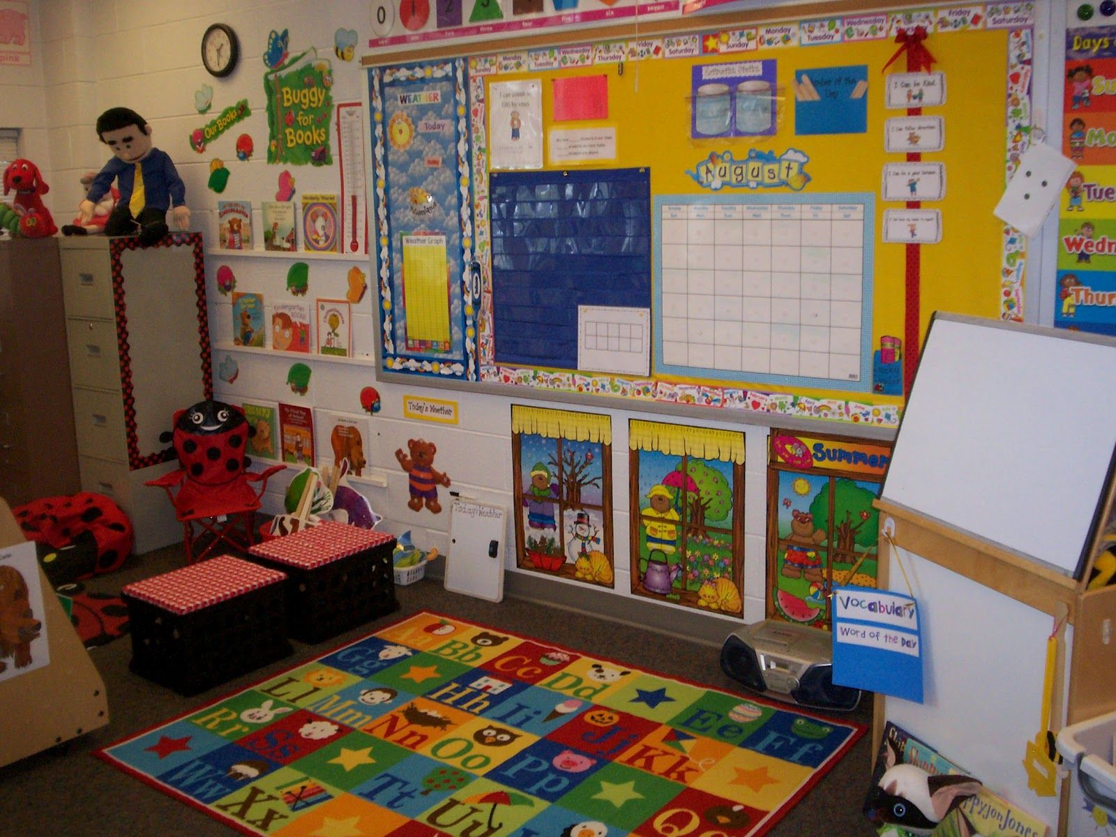 Kindergarten Calendar Center : Centers for pre kindergarten classrooms this is my large
