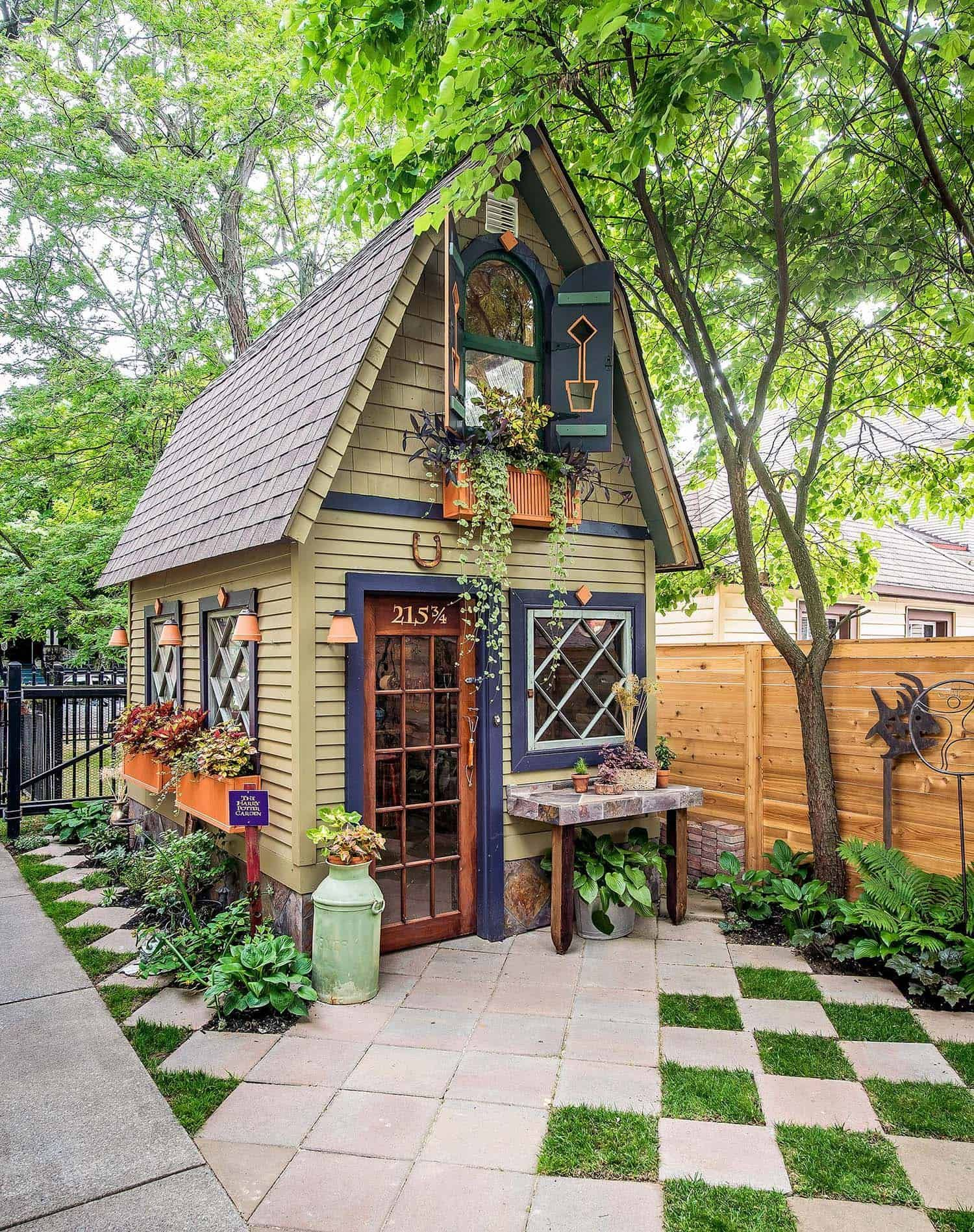 Photo of 28 Absolutely Enchanting Garden Shed Hideaways #garden shed 30 Absolutely Enchan…