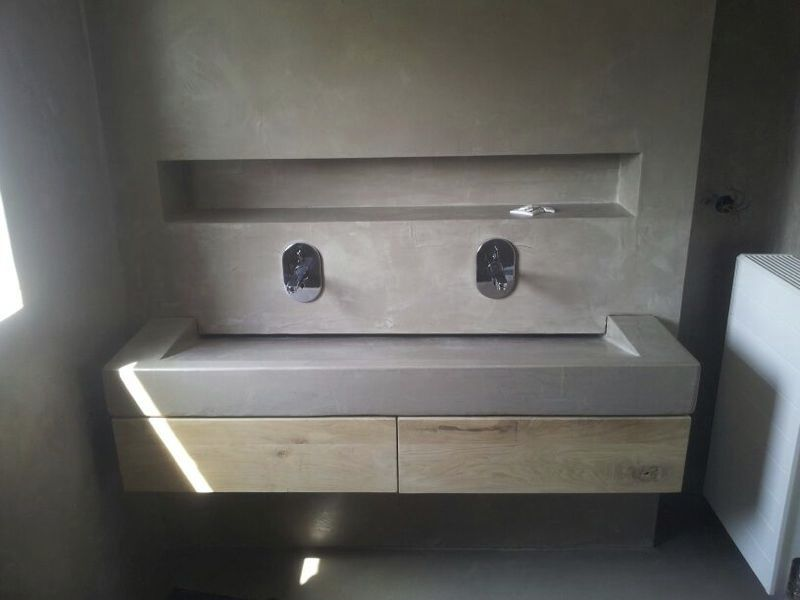 Beton cire douche google zoeken bathroom pinterest airstream