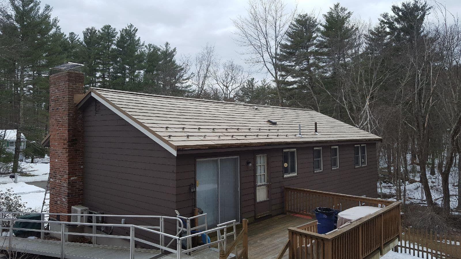 Best Oxford Slate Metal Roof House Styles Metal Shingles 400 x 300