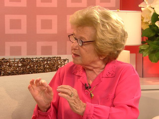 At 84, Dr. Ruth still dishing out sex advice
