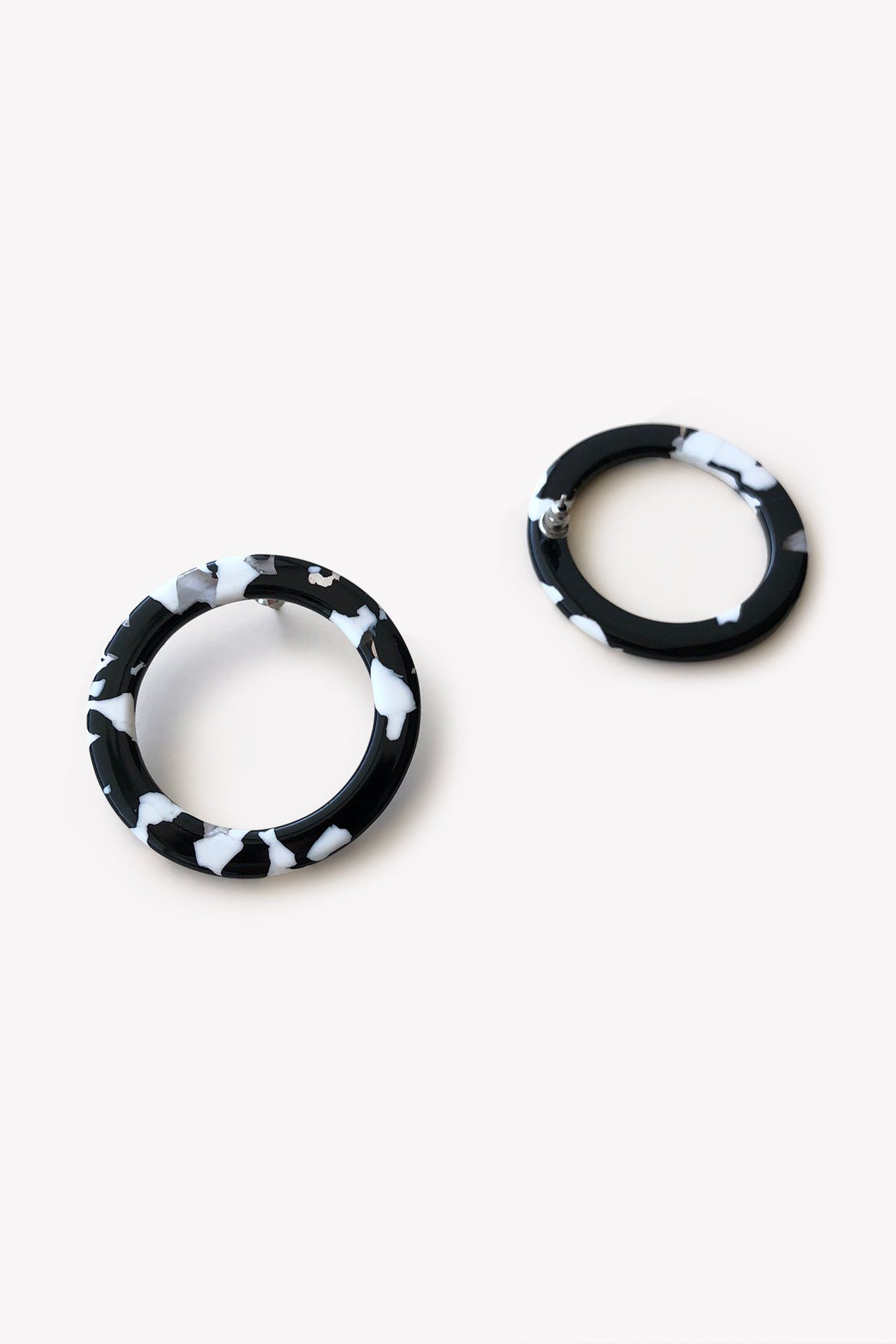 chanel modern shell pinterest vintage tortoise earrings pin